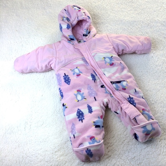 Columbia Other - {COLUMBIA} Infant Girl Snow Winter Suit 6M